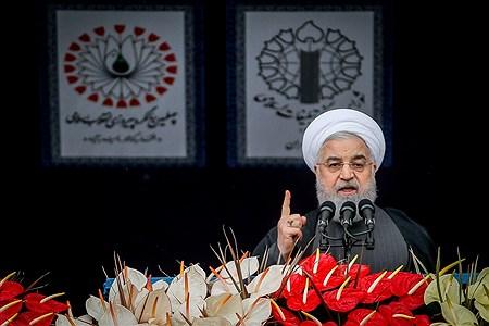 سخنرانی رئیس جمهوری در مراسم ۲۲ بهمن  | Ali Sharifzade