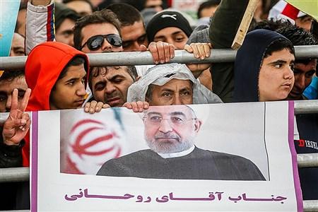 سخنرانی رئیس جمهور در مراسم ۲۲ بهمن  | Ali Sharifzade