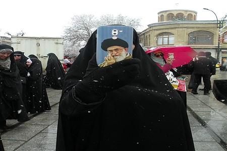 راهپیمایی 22 بهمن در همدان | Sara Khotanloo