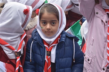 راهپیمایی عظیم چهلمین سالگرد انقلاب اسلامی در شهریار | Sara Vesagh
