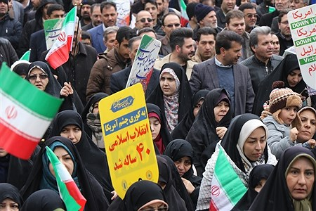 راهپیمایی 22 بهمن در ارومیه | Amir Hosein Mollazade
