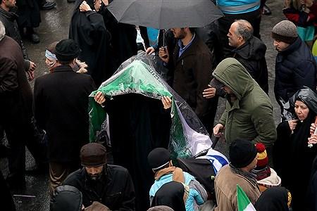مراسم راهپیمایی 22 بهمن در تهران 1 | Bahman Sadeghi