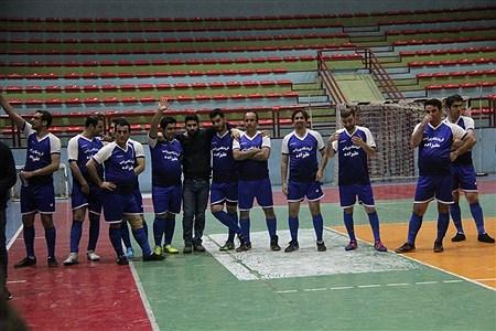 بازی دوستانه فوتسال تیم 90 ارومیه با تیم رسانه ارومیه | reza maroufi
