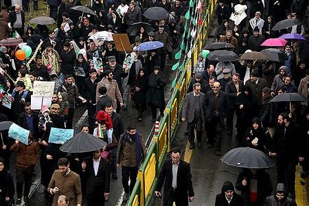 مراسم راهپیمایی 22 بهمن در تهران 2 | Bahman Sadeghi