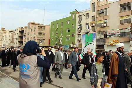 چهلمین راهپیمایی 22بهمن در اهواز | Nazanin Haddad
