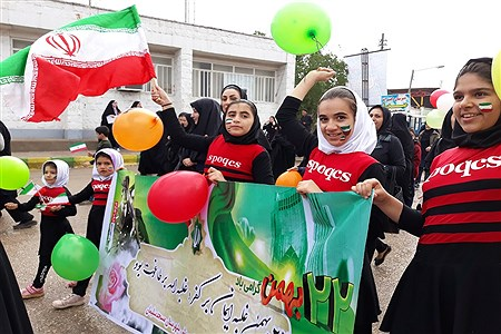 حضور پرشور مردم مسجدسلیمان در راهپیمایی ۲۲ بهمن | Fatemeh Oshttad
