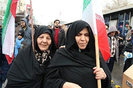 غرفه سازمان دانش آموزی شهر تهران در راهپیمایی 22 بهمن تهران | Mohamad sajad ghadiry