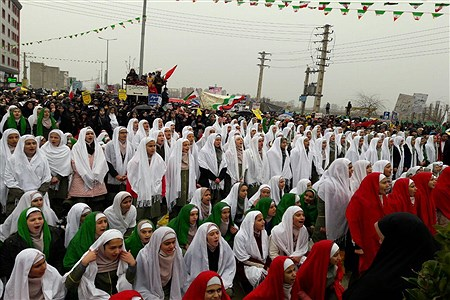 حماسه باشکوه مردم ملارد در یوم الله بیست و دو بهمن 97 | Zahra Einabady