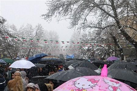 حضور پرشکوه مردم در راهپیمایی ٢٢ بهمن همدان | Ali Bayat