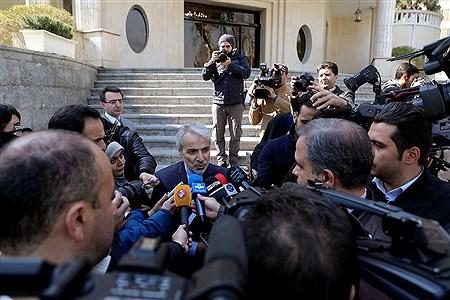 حاشیه جلسه هیات دولت | Bahman Sadeghi