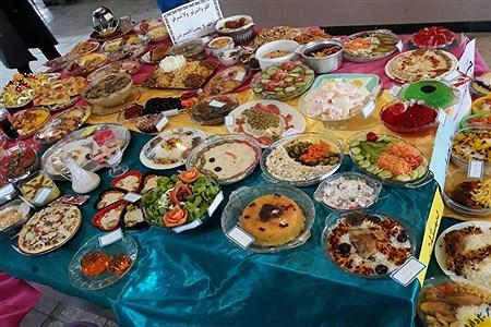 برپایی جشنواره غذای سالم در دبستان قرآنی مائده منطقه خزل | Fatemeh Siavashi