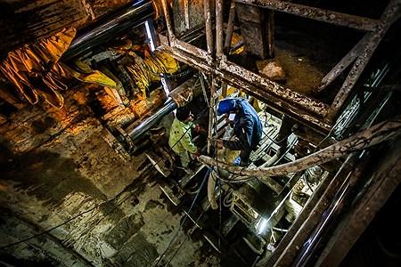 عملیات حفاری مکانیزه و دستی تونل های مترو تهران | Ali Sharifzade