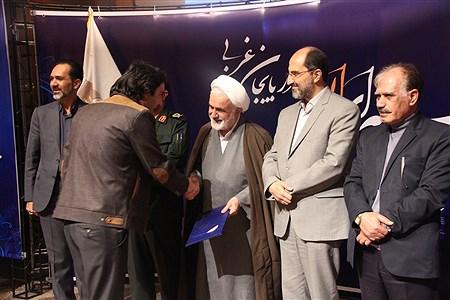 آیین تجلیل از برترین های نخستین جشنواره رسانه ای ابوذر در آذربایجان غربی   | reza maroufi