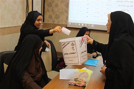 انتخابات مجامع سازمان دانش آموزی استان قم | ramezan khah