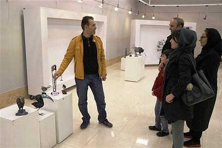 نمایشگاه «قصه های فلز » | Amir Hosein Mollazade
