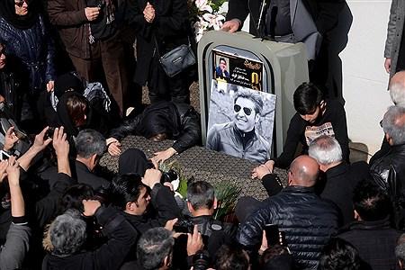 مراسم تشییع پیکر خشایار الوند | Bahman Sadeghi
