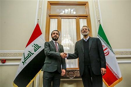 دیدار علی لاریجانی با رئیس مجلس عراق | Ali Sharifzade