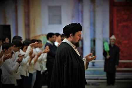جشن عبادت 2000 نفره دانشآموزان پسر منطقه 19 آموزش و پرورش شهر تهران در مرقد امام خمینی (ره)   mohamad sajad ghadiry