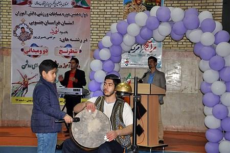 افتتاح دوازدهمین دوره مسابقات ورزشی دانش آموزان استان خراسان جنوبی | Mahdi Arasteh
