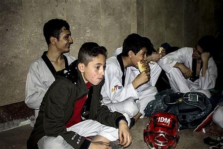مسابقات تکواندو استان تهران  | Amir Gholami