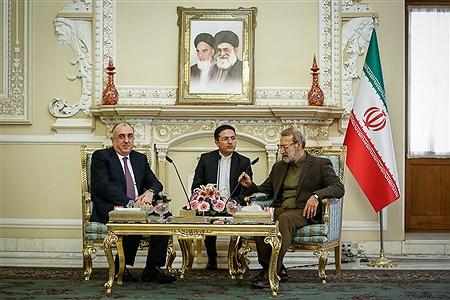 دیدارهای امروز علی لاریجانی رییس مجلس شورای اسلامی  | Ali Sharifzade