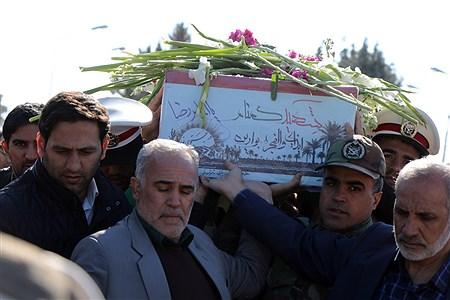 استقبال از شهید گمنام در فرودگاه ارومیه | Amir Hosein Mollazade