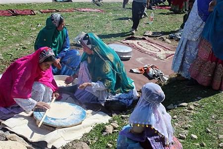 جشنواره غذاهای سنتی و صنایع دستی بختیاری در روستای چمن سادات حسینی دهدزخوزستان | Iraj Khajavi