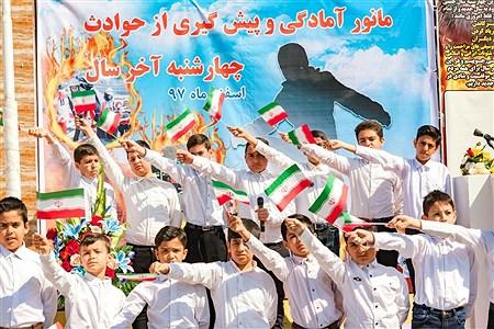مانور استانی پیشگیری از حوادث چهارشنبه آخر سال در مشهد | Kianosh Naje