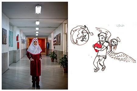 دانش آموز ناشنوا فاطمه بهرامی  | Ali Sharifzade