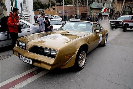 نمایش ماشین های تاریخی در کاخ سعد آباد | Bahman Sadeghi