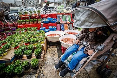 حال و هوای میدان تجریش در آستانه سال نو | Ali Sharifzade