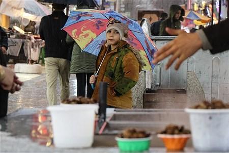 بارش تگرگ در ارومیه | Amir Hosein Mollazade