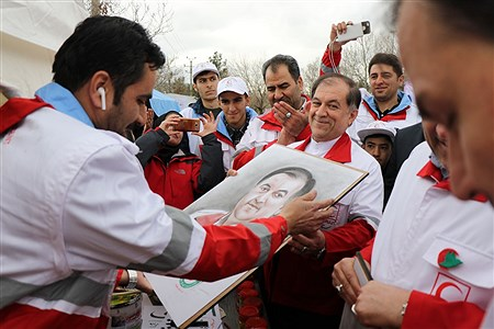 افتتاح طرح امداد نوروزی هلال احمر آذربایجان غربی | Amir Hosein Mollazade