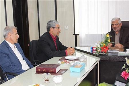 دیدار رئیس سازمان دانش آموزی کهگیلویه و بویراحمد با مدیر کل آموزش و پرورش |
