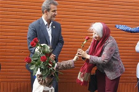 بازدید رئیس انجمن بین المللی مدارس مددکاری اجتماعی و هیات همراه از مراکز خدماتی شهرقدس | Hadis Soheili