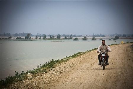 نگرانی مردم از سیل احتمالی در شیبان خوزستان | Mahdi Maheri