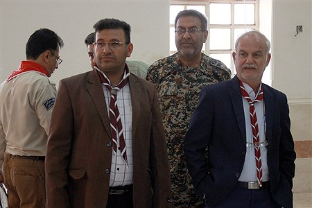 حضور رییس سازمان دانش آموزی خوزستان و مربیان پیشتاز ناحیه یک اهواز در ارودگاههای اسکان سیل زدگان  حمیدیه | Mohamad Shahrokh Nasab