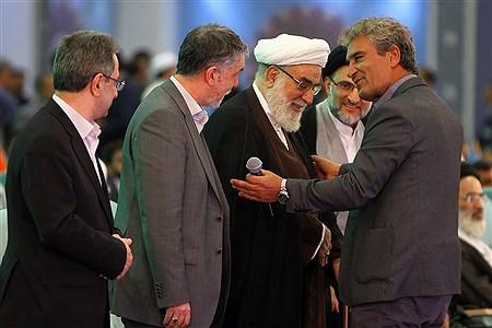 مراسم افتتاحیه سی و ششمین دوره مسابقات بینالمللی قرآن کریم | Hossein Paryas