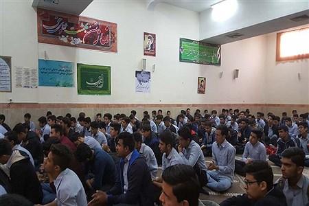 جشن اعیاد شعبانیه درهنرستان  فنی ونمونه دولتی البرز | Mahdi Arasteh