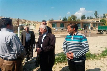 بازدید مدیرکل آموزش و پرورش شهر تهران از استان لرستان | pana