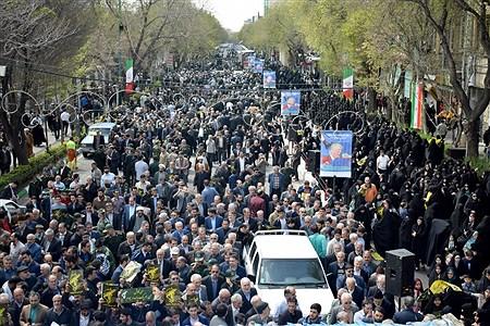 حمایت مردم تبریز از سپاه پاسداران انقلاب اسلامی | Morteza Farzi