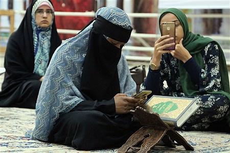 تجدید میثاق شرکت کنندگان مسابقات بین المللی قرآن کریم با آرمان های امام خمینی (ره) | Pegah Faraji