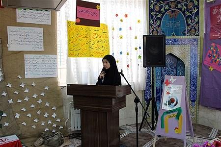 نمایشگاه عفاف و حجاب در دبیرستان نمونه تقوی شهرستان بیرجند  | Nahid Mohhamadi