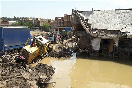 منازل تخریب شده در سیل پل دختر استان لرستان | Mahya Farahmand Negad