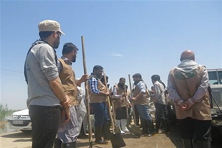 روندکمک رسانی به روستاهای بخش اسماعیلیه اهواز | Mohamad Salmani Abbiat