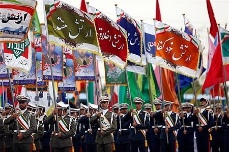 مراسم رژه روز ارتش | pana