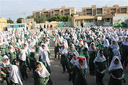 نواخته شدن زنگ استمرار فعالیت های آموزشی در استان خوزستان | Mohamad Salmani Abbiat