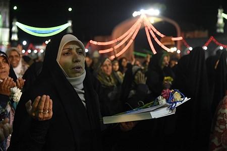 جشن میلاد حضرت مهدی (عج) در جمکران | Amir Hossein Khademi