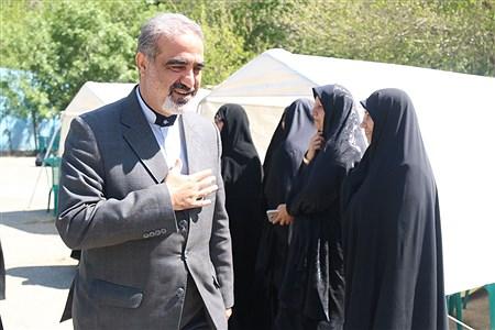 بازدید مدیر آموزش و پرورش منطقه 16 تهران از کانون فرهنگی تربیتی بعثت به مناسبت هفته معلم | zahra alihashemi