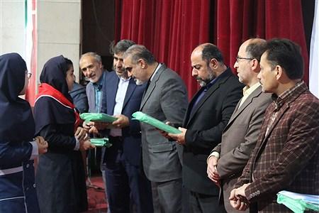 تقدیر از دانش آموزان پیشتاز در  جشنواره هفته سلامت آموزش و پرورش منطقه 16تهران | zahra alihashemi